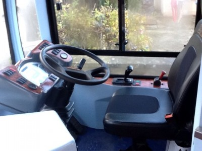 Cannon Bus driver seat and console - Bus Sales, UK from Cannon Bus, Strabane, County Tyrone, N. Ireland