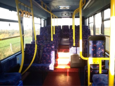 Cannon Bus inside view - Bus Sales, UK from Cannon Bus, Strabane, County Tyrone, N. Ireland