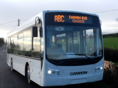 Cannon Bus outside view from front - Bus Sales, UK from Cannon Bus, Strabane, County Tyrone, N. Ireland