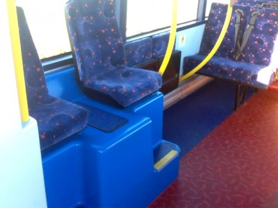 Cannon Bus inside showing seats - Bus Sales, UK from Cannon Bus, Strabane, County Tyrone, N. Ireland